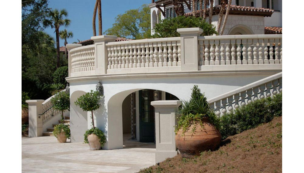 Palm Beach Cast Stone, Inc., West Palm Beach, Florida - Architectural Cast Stone and Natural Cut Dominican and Florida Coral and Keystone